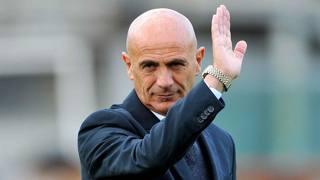 Giuseppe Sannino, era arrivato al Catania a stagione in corso. LaPresse
