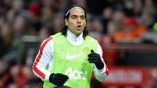 Radamel Falcao, 28 anni, non ha cominciato bene a Manchester. AFP