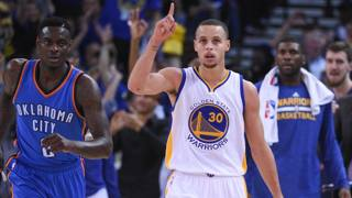 Stephen Curry, 26 anni, dal 2009 con i Warriors. Reuters