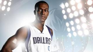 Rajon Rondo con l'uniforme di Dallas