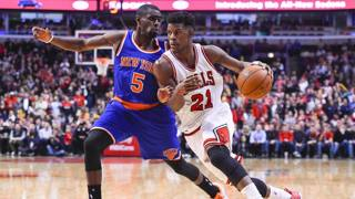 Jimmy Butler, 25 anni, incontenibile per New York. Reuters