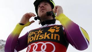 Kjetil Jansrud, vincitore di tre delle prime 4 prove veloci disputate quest'anno. Ap