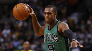 Rajon Rondo, 28 anni, era a Boston dal 2006. Reuters