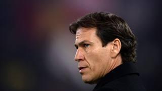 Rudy Garcia, 50 anni, allenatore della Roma. Afp