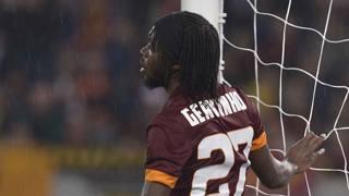 Gervinho, attaccante della Roma. Lapresse