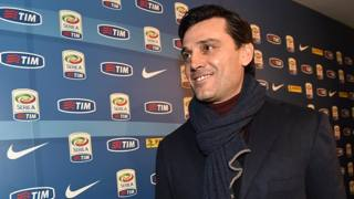 Vincenzo Montella, tecnico della Fiorentina. Getty