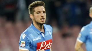 Dries Mertens, 27 anni, seconda stagione al Napoli. LaPresse