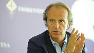 Andrea Della Valle, presidente della Fiorentina. Ansa