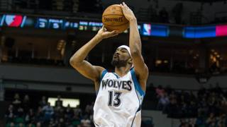 Corey Brewer, 28 anni, in Nba dal 2007. Reuters