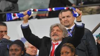 Massimo Ferrero, numero uno Samp e