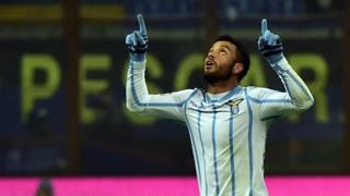 Felipe Anderson, 21 anni, seconda stagione alla Lazio. Afp