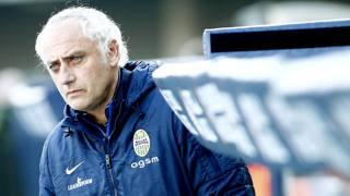 Andrea Mandorlini, tecnico dell'Hellas. Lapresse