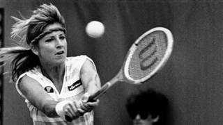 Chris Evert, nata nel 1954 a Fort Lauderdale, Florida.