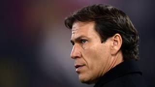 Rudi Garcia, 50 anni, deve risolvere qualche problema con la sua Roma. AFP