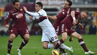 Glik su Matri in Torino-Genoa: era rigore.  Getty