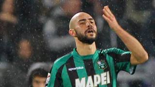 Simone Zaza, attaccante del Sassuolo. Getty
