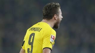 Ciro Immobile, attaccante del Borussia Dortmund. Reuters