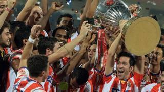 Il trionfo dell'Atletico de Kolkata nella prima Hero indian Super League. Afp