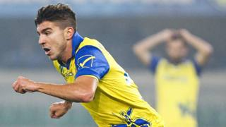 Alberto Paloschi, 24 anni, 4 reti quest'anno in Serie A con il Chievo. LaPresse