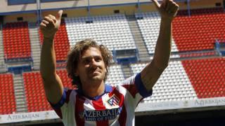 Alessio Cerci con la maglia dell'Atletico Madrid. Ansa