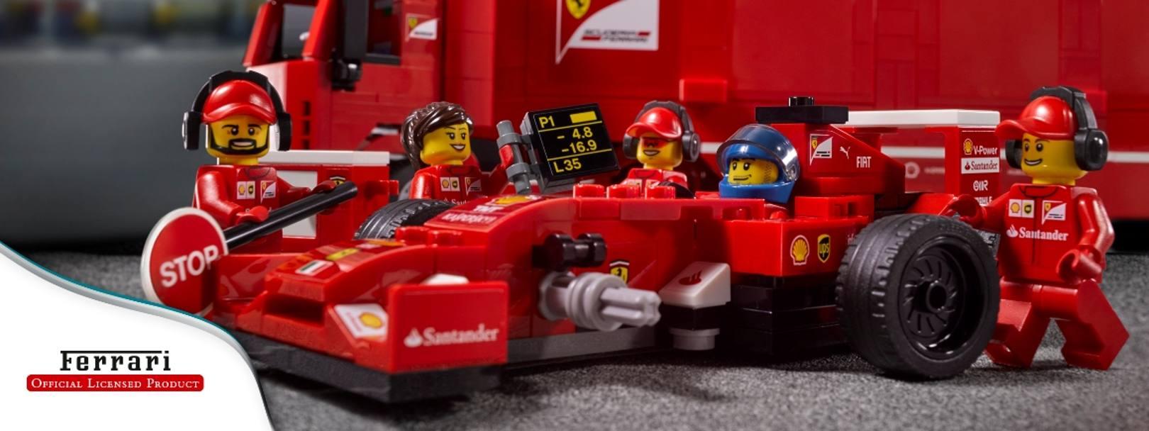 Ferrari Porsche Mclaren Ecco Gli Speed Champion Lego