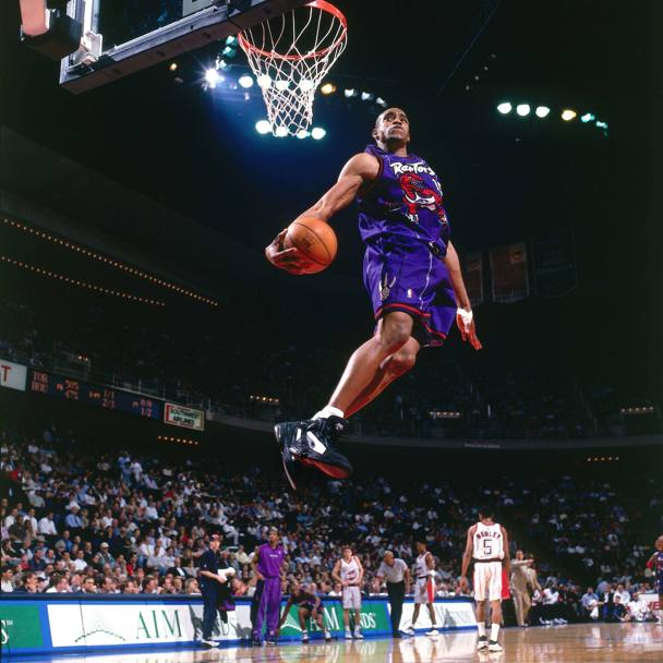 1999: Vinsanity in volo contro Houston