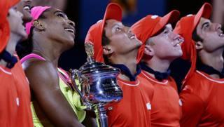 Serena, salti da vittoria