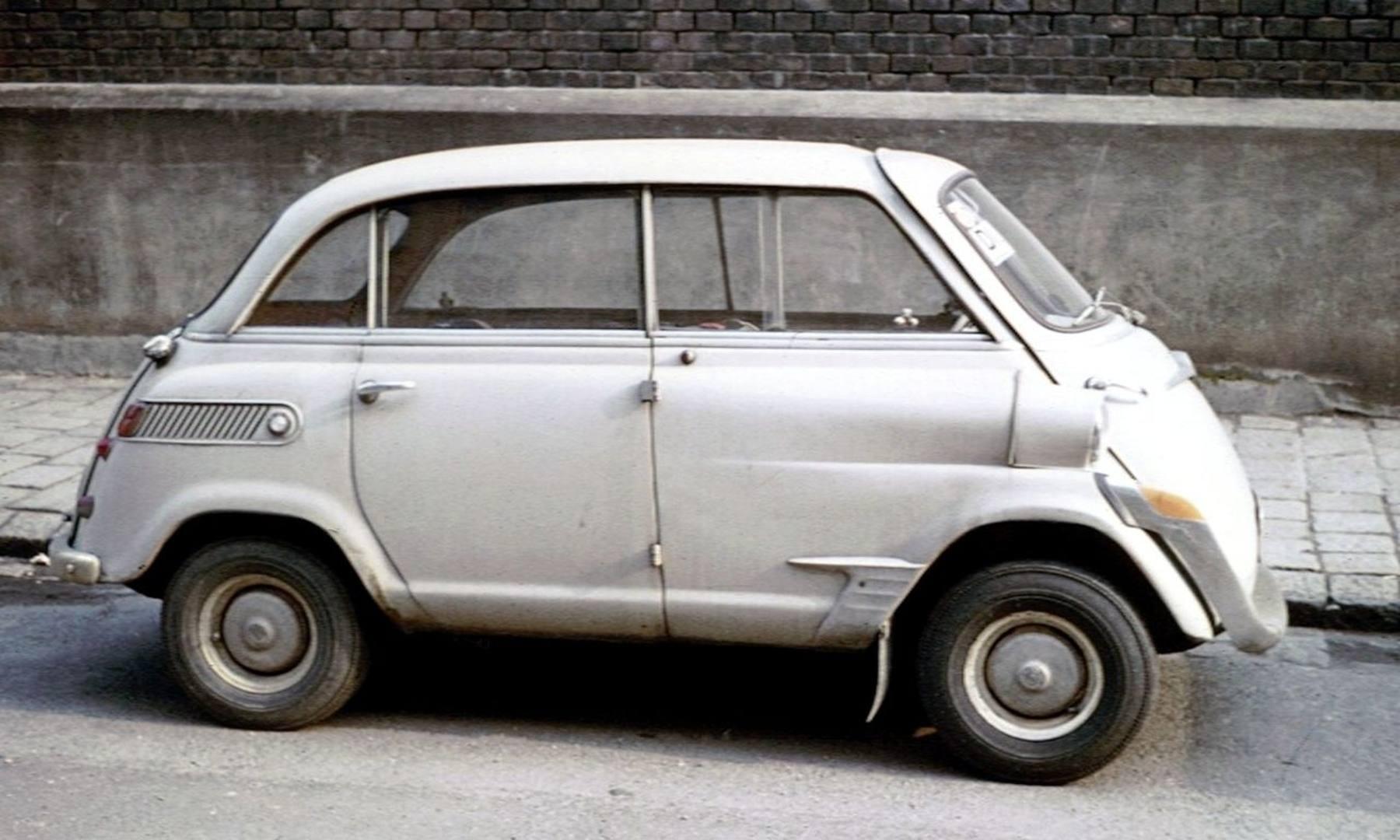 Bmw Mobile Al >> I 60 anni della Bmw Isetta - La Gazzetta dello Sport