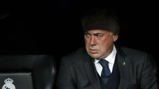 La faccia rabbuiata di Ancelotti. Reuters