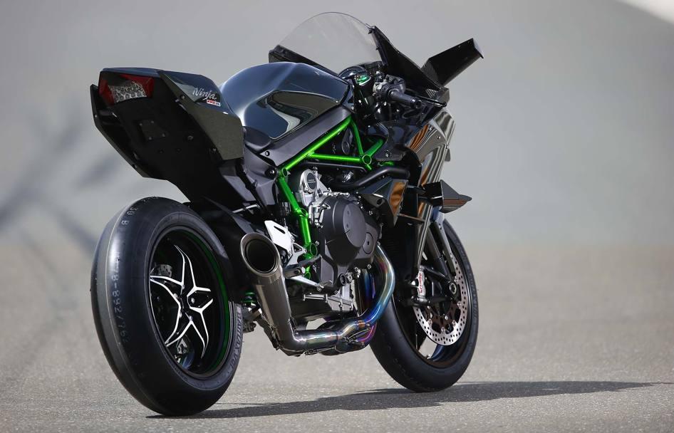 Kawasaki H2r 0 100 Motorrad Bild Idee