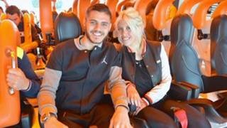 Dall'Inter a Gardaland: Icardi sulle montagne russe