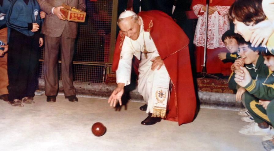 Il Papa dello sport