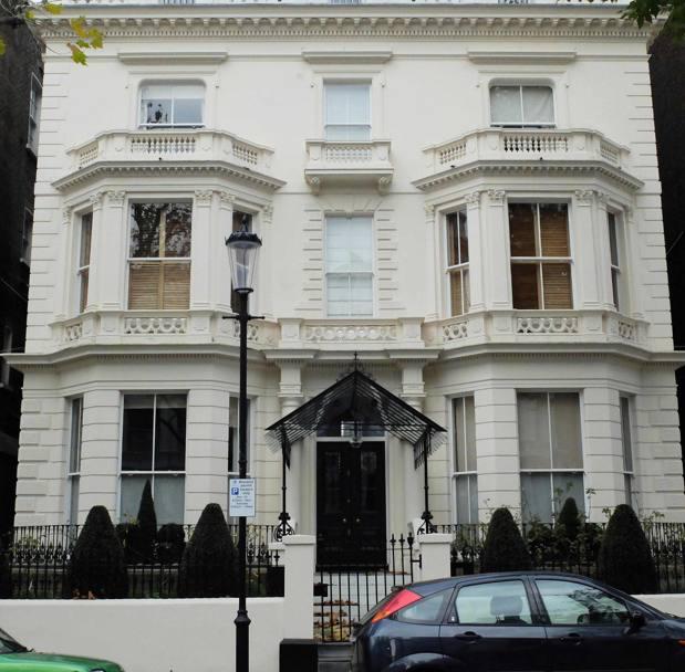 Un'altra immagine della nuova residenza Beckham, situata a Notting ...