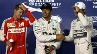 Hamilton pole in Bahrain, ma Vettel gli soffia sul collo