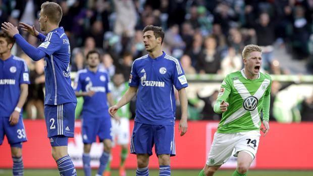 De Bruyne-gol, lo Schalke si arrabbia.Ap