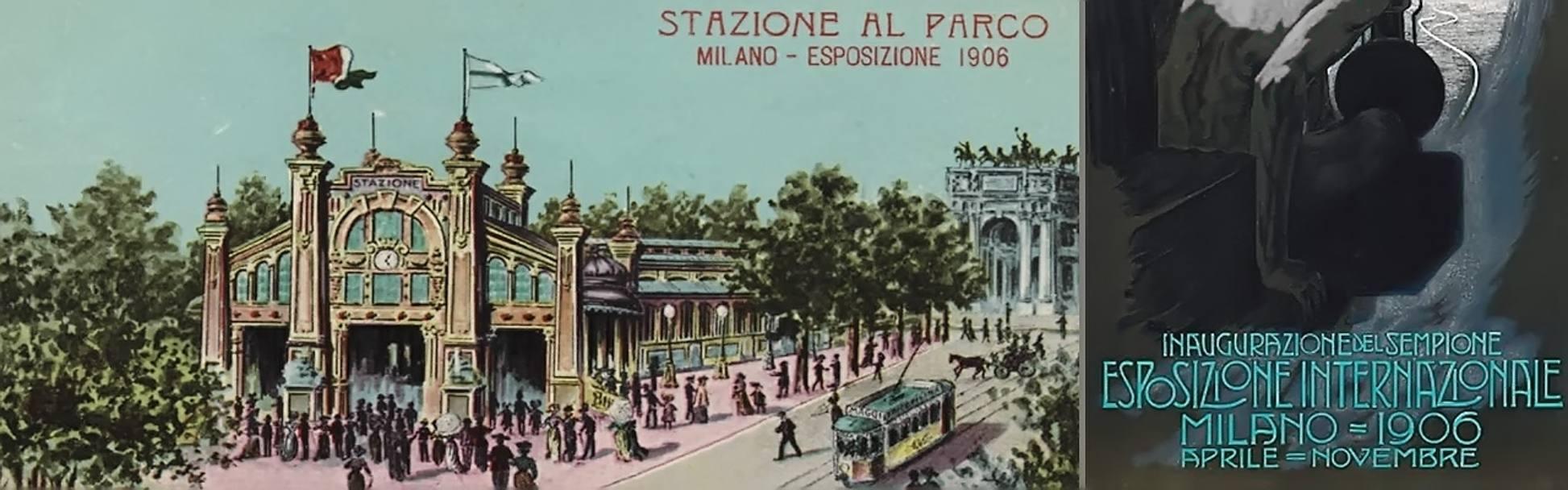 Expo 1906 il mondo si incontr a milano for Esposizione universale expo milano 2015