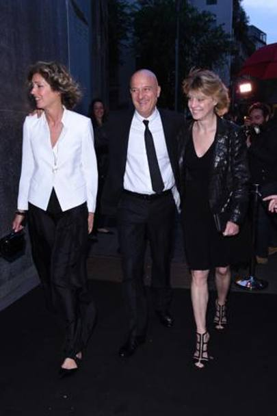 Sandra Bonzi, Claudio Bisio e Margherita Buy