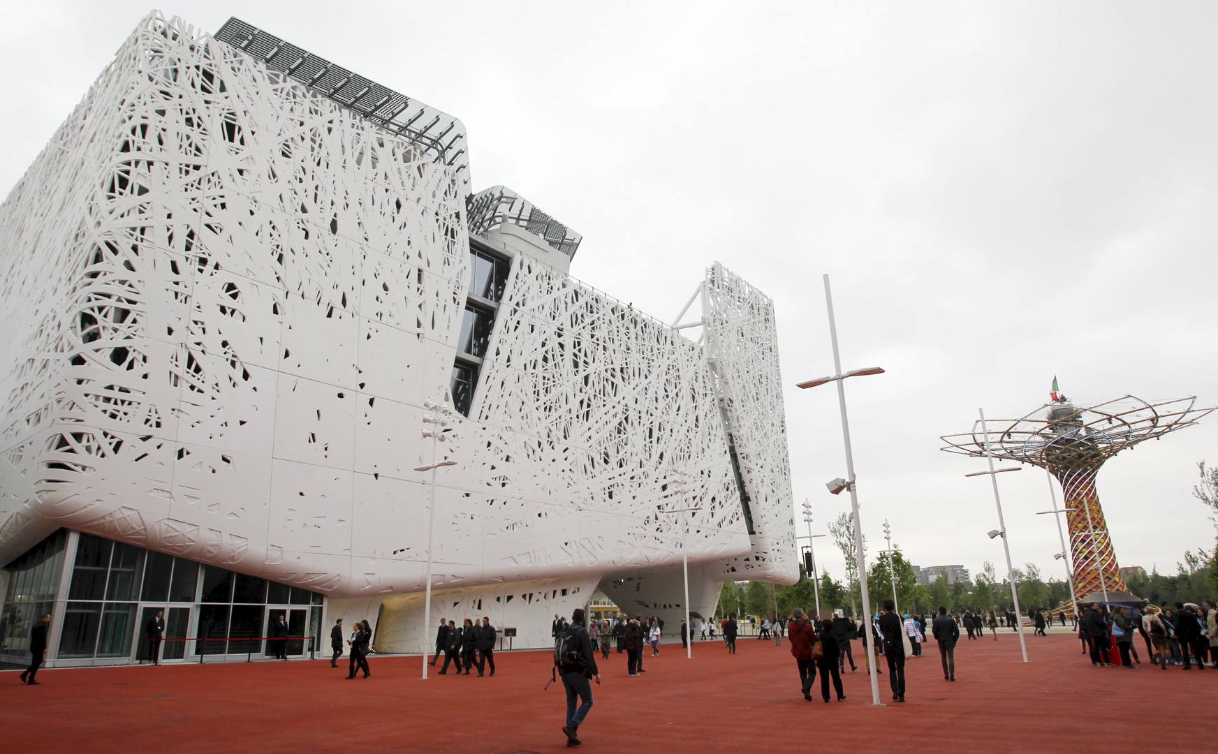 Expo 1 maggio i padiglioni pi belli e i la for Tutti i padiglioni expo 2015