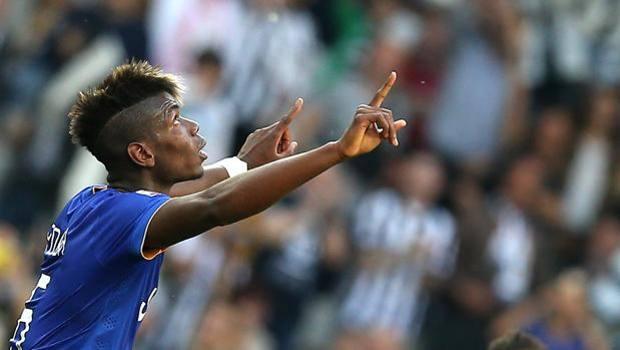 Paul Pogba, gol al rientro contro il Cagliari. Afp
