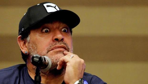 Diego Armando Maradona, 54 anni. Epa