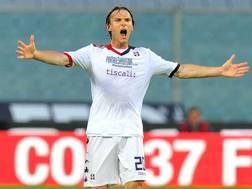 Albin Ekdal, 25 anni, dal 2011 a Cagliari. LaPresse