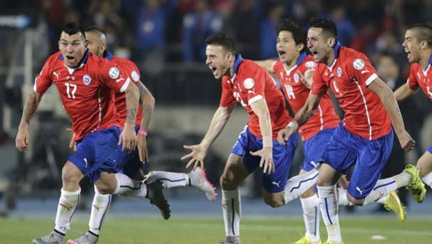 La gioia del Cile. Action Images