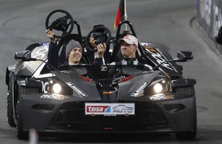Vettel sar� a Londra per la Corsa dei Campioni in Sport di tutto e di pi�