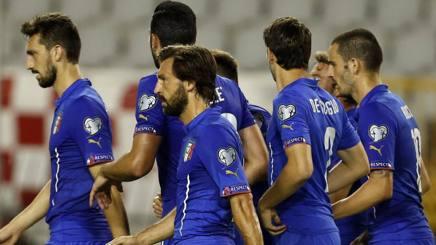 La Nazionale di Antonio Conte. Ap