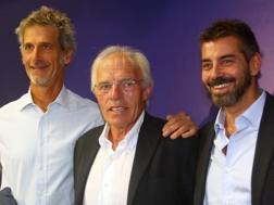 Nevio Scala, 67 anni, alla presentazione del nuovo Parma. LaPresse
