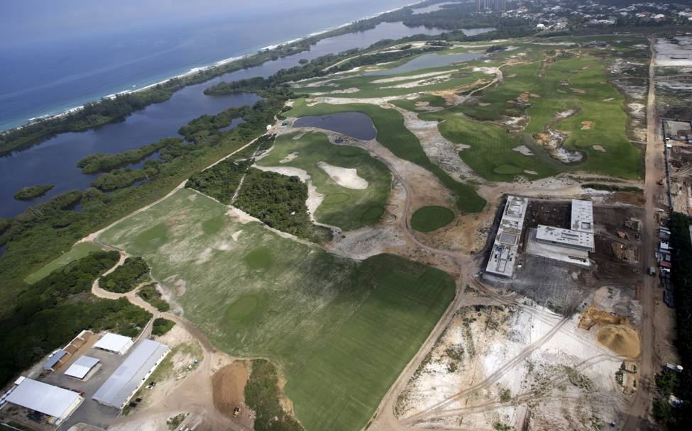 L'Olympic Golf Course di Barra (Reuters)
