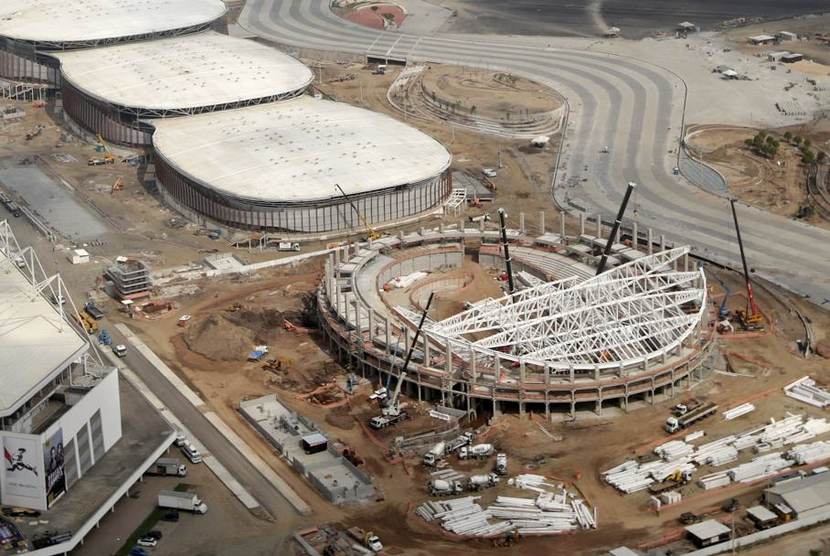Il Velodrome nel Barra Olympic Park (Reuters)