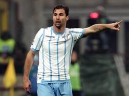 Lorik Cana, 32 anni, difensore albanese della Lazio. Forte