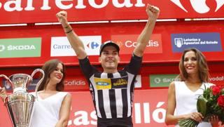 Vuelta, decima tappa: primo successo azzurro con Sbaragli