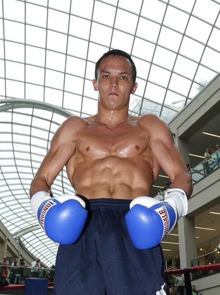 Il pugile inglese Josh Warrington (Action Images)